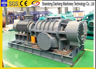 China DRRF240 twin lobes oxidation flue gas desulfurization roots blower in power plant supplier