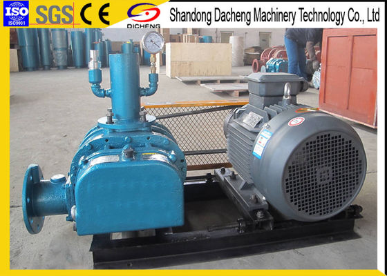China Low Noise Roots Vacuum Blower For Printing Machine -9.8 To -49 Kpa Pressure supplier