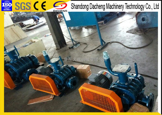 China Oil Free Conveying Roots Vacuum Blower For Powder And Granules Transportation supplier