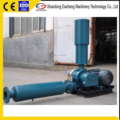 China Grain Conveying Aquaculture Air Blower With Discharge Pressure Gauge supplier