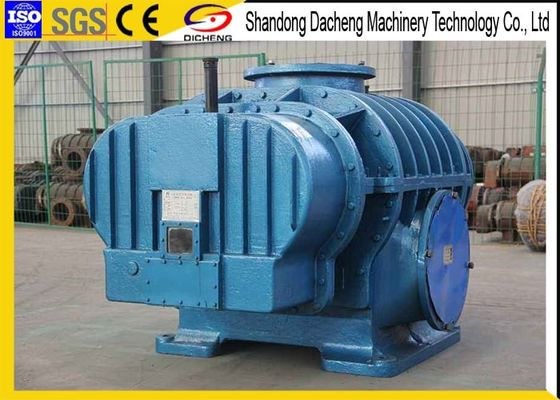 China Pneumatic Conveying Twin Lobe Air Compressor / Coupling Drive Rotary Roots Blower supplier