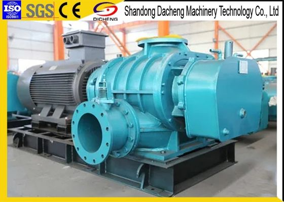 China Desulfurization Tri Lobe Roots Blower , Mining High Pressure Roots Blower supplier