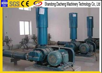 China High Pressure Biogas Blower / Suction And Discharge Roots Type Blower supplier