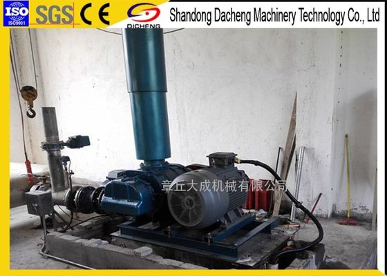 China Belt Drived Pneumatic Conveying Blower , Aeration Positive Displacement Air Compressor supplier