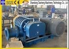 China Grain Transportation Small Roots Blower , Belt Drive Roots Rotary Lobe Blower supplier