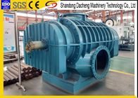Chemical Industry Roots Rotary Lobe Blower , Aeration Twin Lobe Air Blower