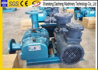 Construction Simple High Vacuum Blower , Belt Vacuum Blower Industrial