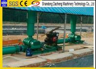 Construction Simple Roots Rotary Blower With Three Lobe 980 ~ 1310rpm