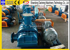 Metallurgy Air Blower For Sewage Treatment Plant / Small Rotary Roots Blower