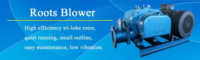 High Pressure Fish Pond Air Blower / Aeration Industrial Roots Blower