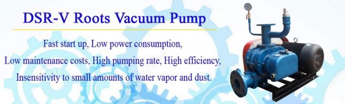 Food Process High Vacuum Aquaculture Air Blower With Madrid Protocol -9.8 to 49Kpa